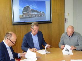 Ondertekening Turn-key overeenkomst 19 huurwoningen